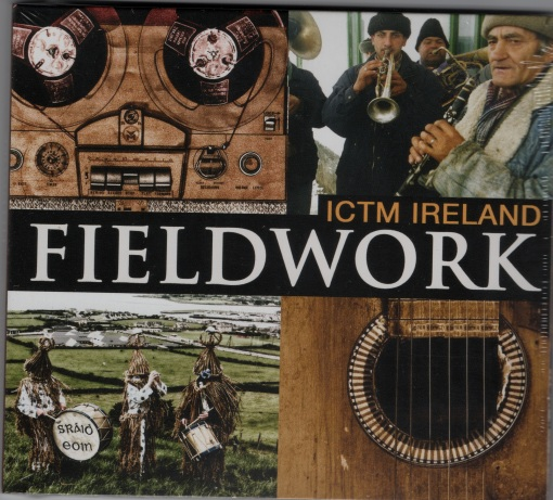 Cover of 2013 CD 'Fieldwork' Co-edited with Desi Wilkinson